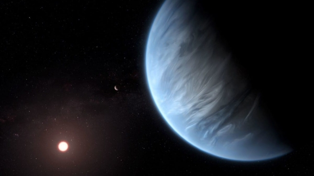 Situated 110 light years away, the planet has water and is the right temperature to support life