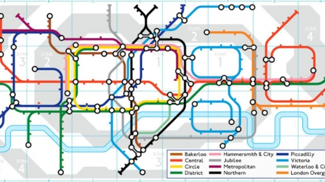 The intricate Google Doodle commemorating the 150th anniversary of the London Underground