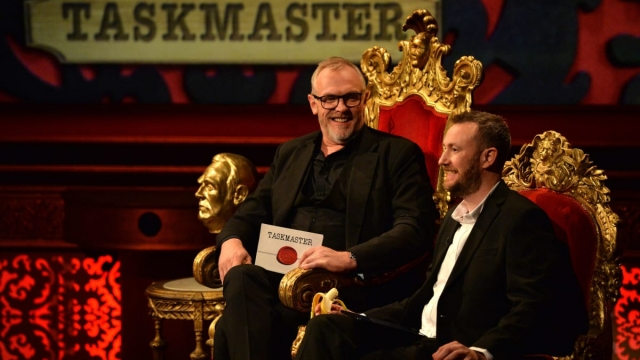 Article thumbnail: Greg Davies and Alex Horne on Taskmaster on Dave