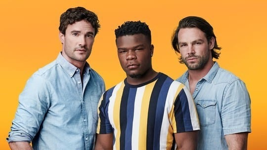 Article thumbnail: Rugby stars Thom Evans, Ben Foden and Levi Davis have teamed up to form boyband Try Star