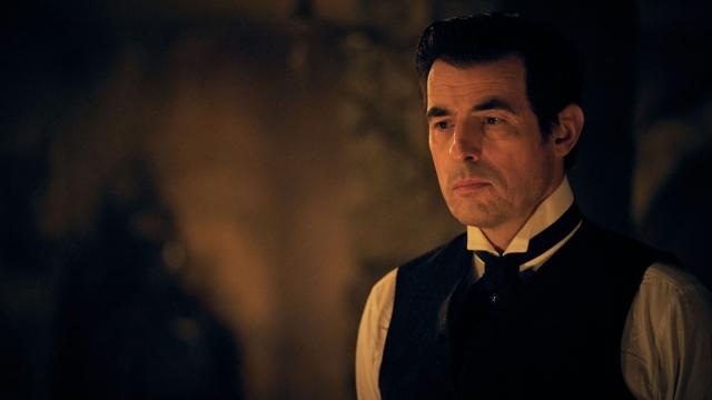 Claes Bang as Dracula on BBC One
