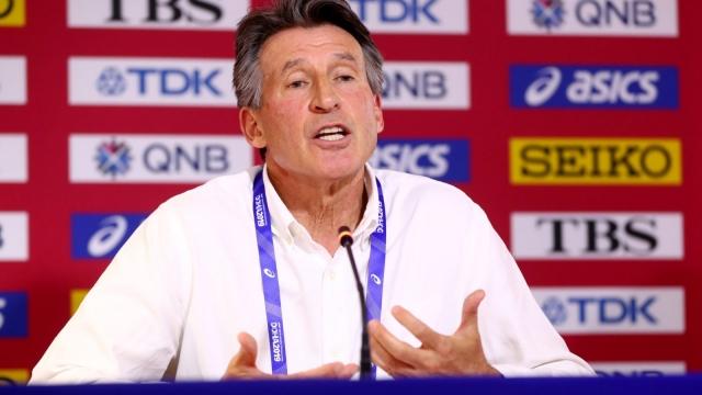 Article thumbnail: IAAF president Sebastian Coe