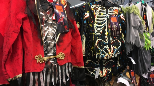 More than 80 per cent of the material in costumes investigated was oil-based plastic (Photo: Fairyland Trust/PA Wire)