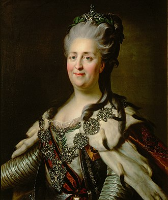 Catherine the Great in the 1780s