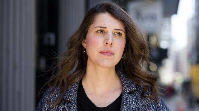 Alice Birch: 'I'm a massive control freak'. Photo: Sarah Krulwich/ New York Times