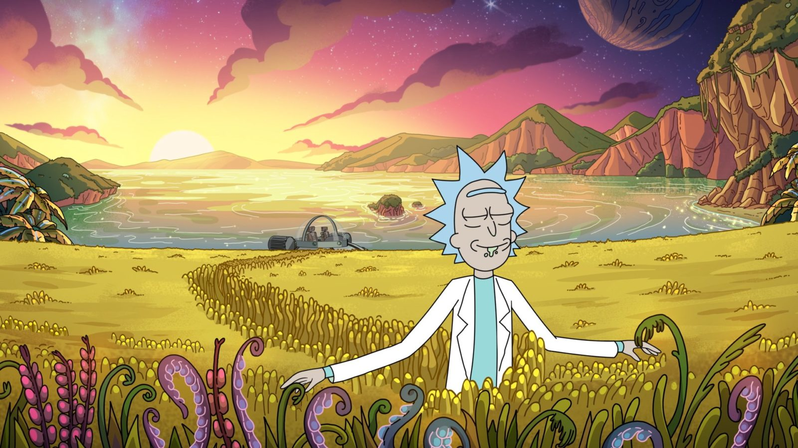 Rick And Morty Season 4 Uk Release Date What Time It S On E4 Tonight And How Many Episodes Are In The New Series