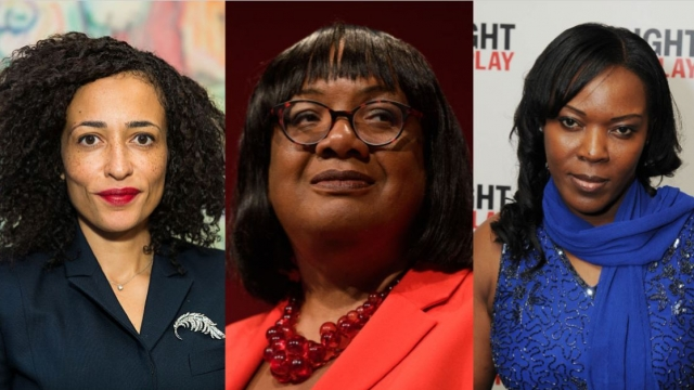 (L-R) Zadie Smith, Diane Abbott and Anne Wafula Strike reveal the women who have inspired them