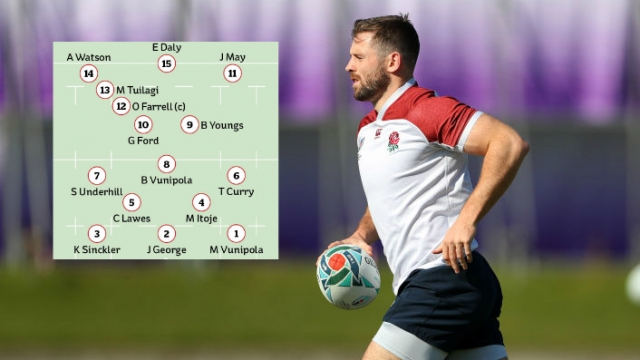 Elliot Daly starts at full back in the England team to face South Africa in the Rugby World Cup Final (Getty Images/i)