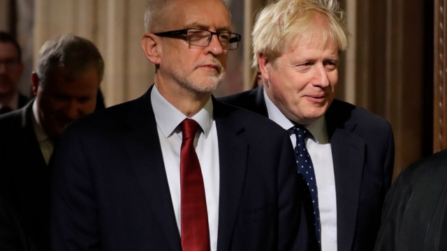 Boris Johnson was struggling to win opposition support for calling a pre-Christmas general election