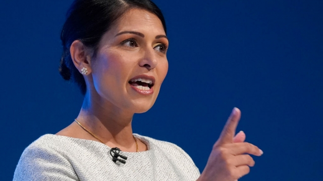 Priti Patel, speaking at the Tory conference, has announced a crackdown on county lines gangs