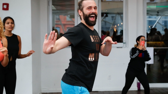 Jonathan Van Ness, star of 'Queue Eye', revealed he had HIV in September (Photo: JP Yim/Getty Images for Zumba Fitness)