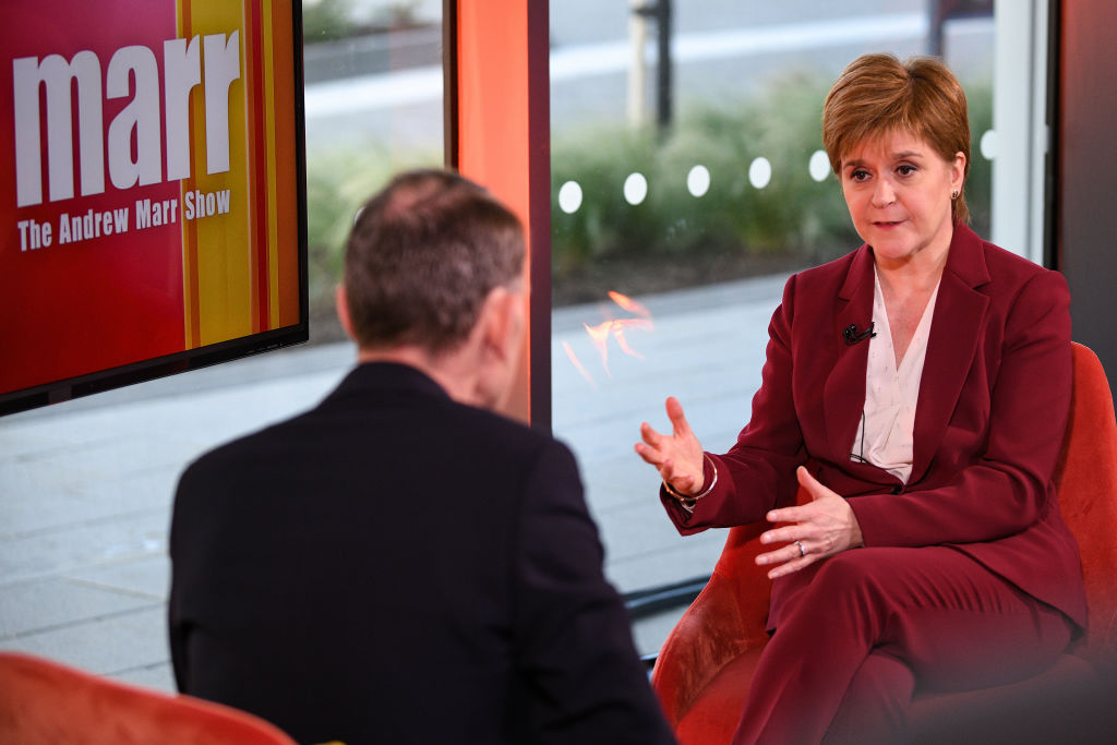 Nicola Sturgeon promises to be 'honest' with voters on hard border with England