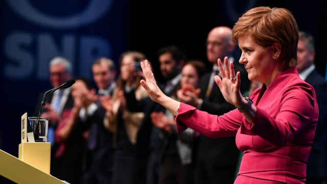 Nicola Sturgeon said the case for Scottish independence was already being won