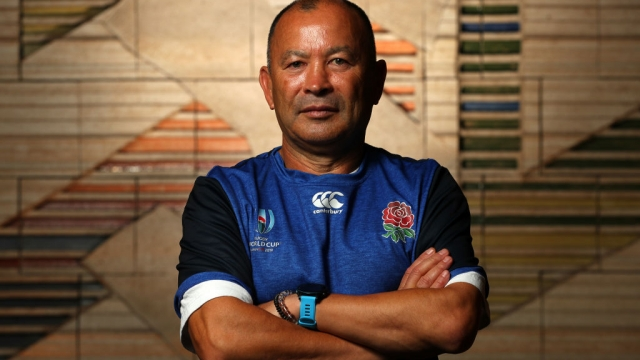 Eddie Jones, Head Coach of England on 31 October 2019 (Getty Images)