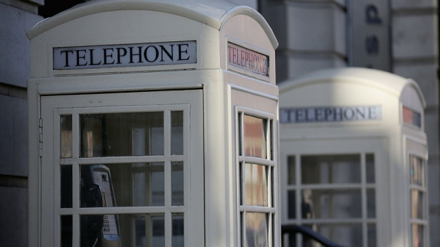 Hull is known for its white telephone boxes