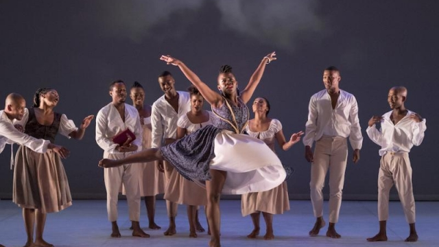 Dada Masilo's Giselle at Sadler's Wells is bold and intense (Photo: Laurent Philippe)