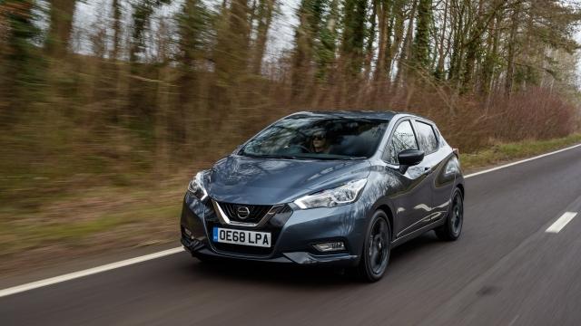 Nissan Micra N-Sport dynamic