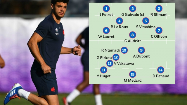 Romain Ntamack will start at fly-half for Les Bleus against Wales in the Rugby World Cup 2019 quarter final (Getty Images/i)