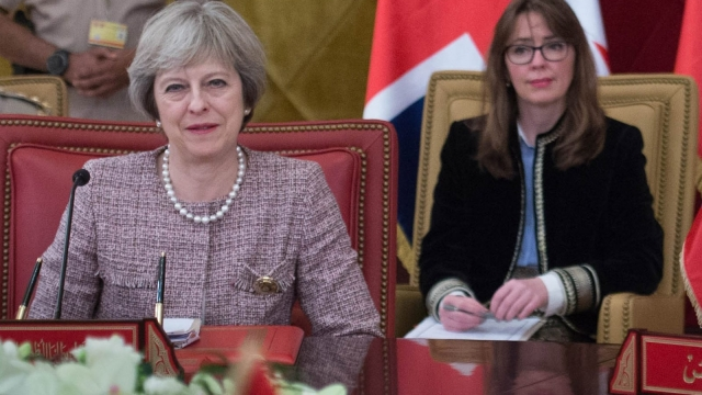 Article thumbnail: Prime Minister Theresa May and her chief of staff Fiona Hill