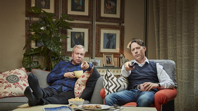 Steve Pemberton and Reece Shearsmith head up the special episode of Gogglebox