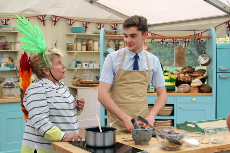 Henry and Sandi Toksvig on The Great British Bake Off 2019
