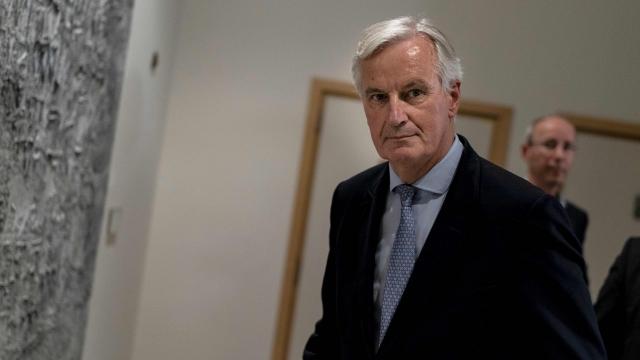 Michel Barnier is the EU's chief Brexit envoy