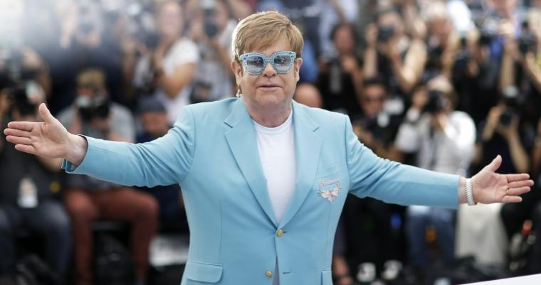 Singer and producer Elton John