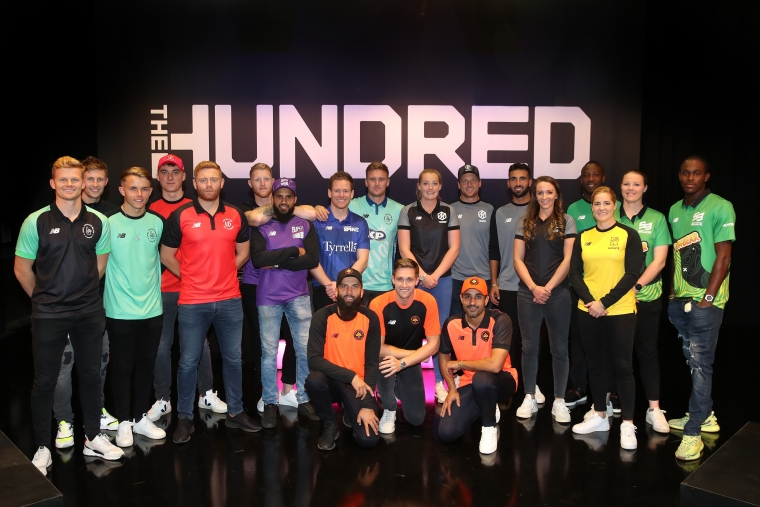 Players for the eight teams in The Hundred line up following The Hundred Draft, broadcast live from Sky Studios