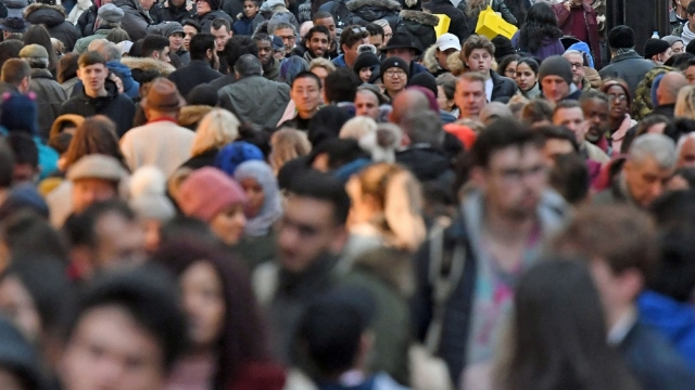 The UK population is set to pass 70 million in the next decade (Photo: Victoria Jones/PA)