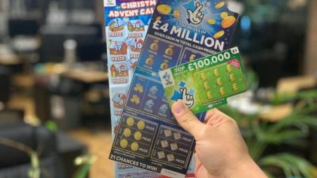 The £10 scratchcards are part of a business with £3.1 billion in sales last year