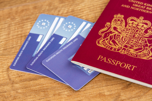 EHIC cards and passport