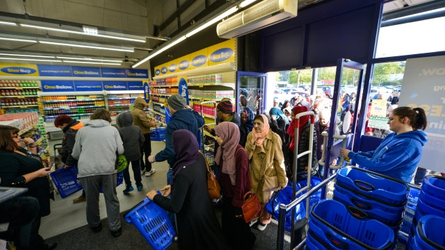 Customers enjoy the opening day of One Below in Bradford (Photo: SWNS)