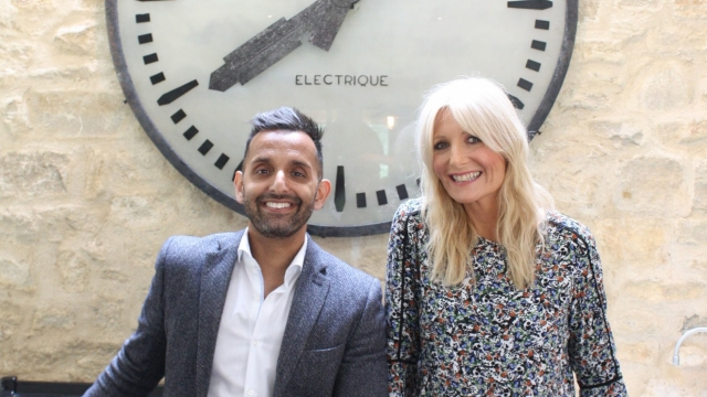 Dr Amir Khan and Gaby Roslin on Channel 5's 'The Science of Sleep'