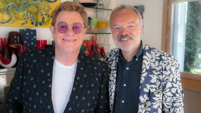 Elton John and Graham Norton