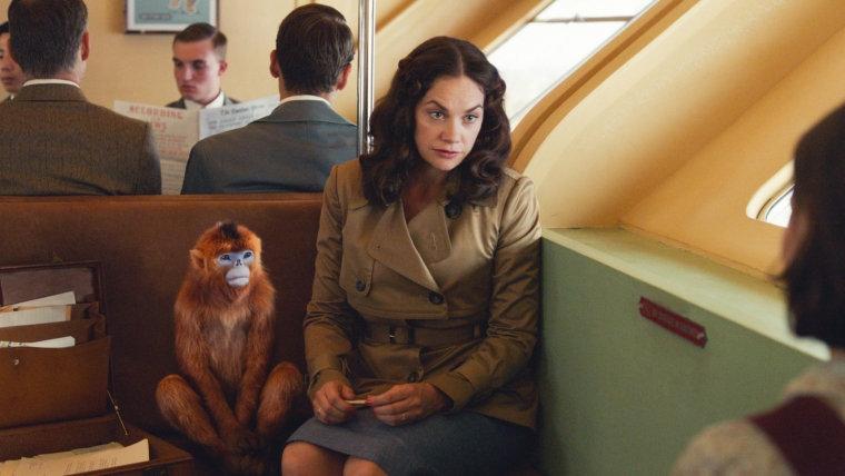 Ruth Wilson as Mrs Coulter in His Dark Materials on BBC One