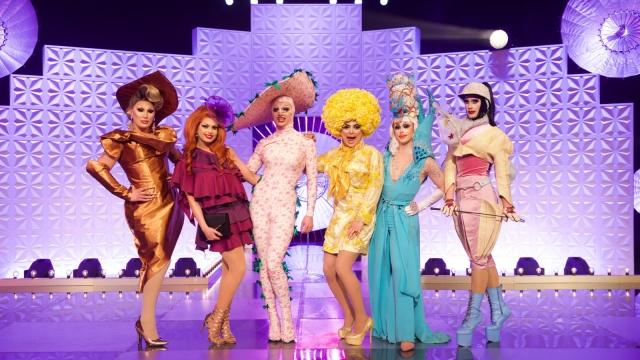 The Vivienne, Cheryl Hole, Crystal, Baga Chipz, Blu Hydrangea, Divina De Campo