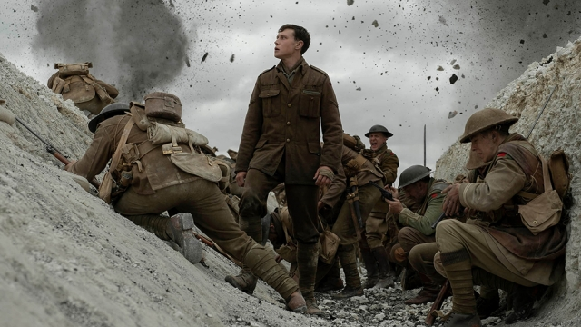 'In reality, the film is evidently made of several long takes, artfully spliced together – but the effect is to immerse the spectator in the grim, ruddy business of war'