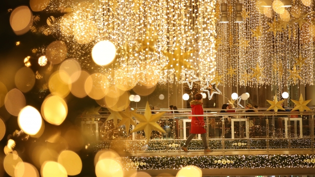 Popping to the shops at Christmas is rarely a relaxing experience (Photo: Getty Images)