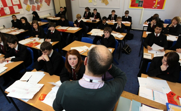 Three quarters of students say they would not report bullying to a teacher (Photo: David Davies/PA Wire)