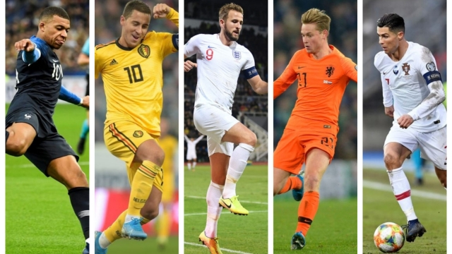 Euro 2020 qualified teams (Getty Images)