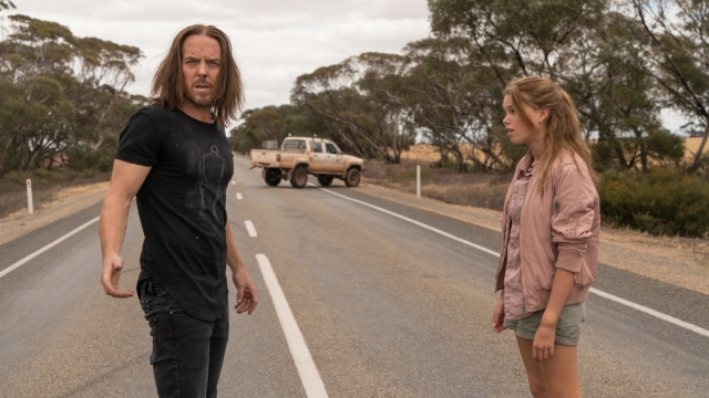Tim Minchin and Milly Alcock in Upright on Sky Atlantic