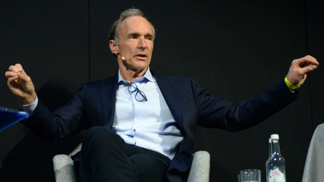 World Wide Web founder Sir Tim Berners-Lee has warned of a 'digital dystopia' (Photo: Philip Toscano/PA Wire)