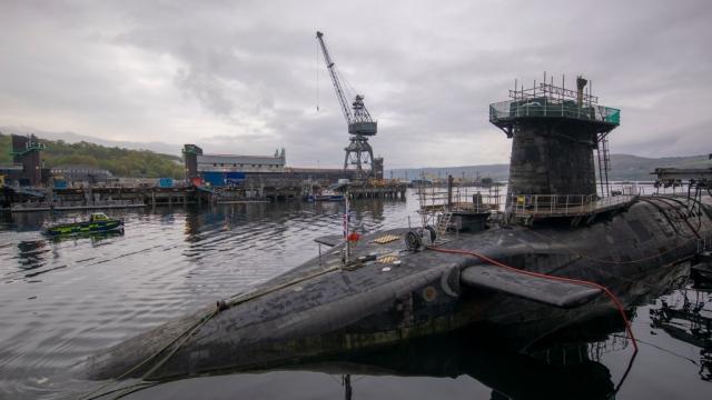 HMS Vigilant carries the UK's Trident nuclear deterrent
