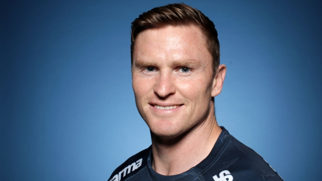 Chris Ashton of Sale Sharks poses for a portrait during the Gallagher Premiership Rugby 2019-20 Season Launch on 11 September 2019 (Getty Images for Premiership Rugby)