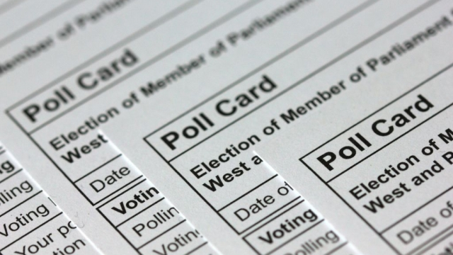 Voters should have already received their polling cards