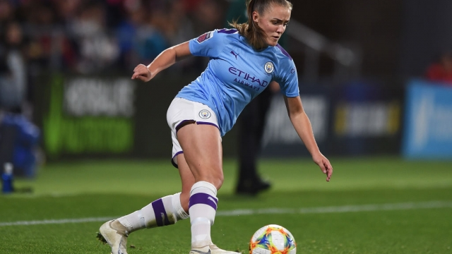 Georgia Stanway of Manchester City Women on 30 October 2019 (Getty Images)