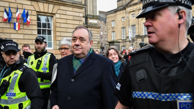 Alex Salmond is facing 14 criminal charges (Photo: Getty)