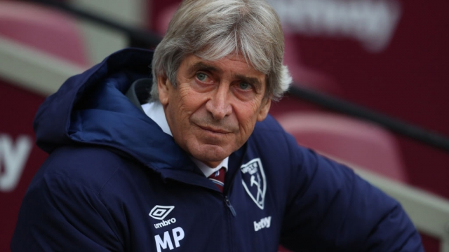 Manuel Pellegrini manager of West Ham United at London Stadium on 23 November 2019 (Getty Images)