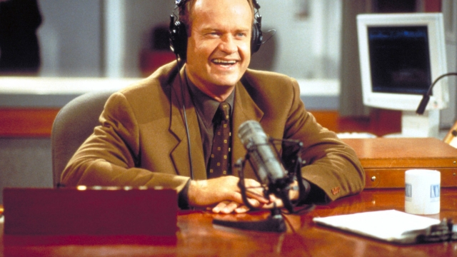 Actor Kelsey Grammer as Frasier Crane