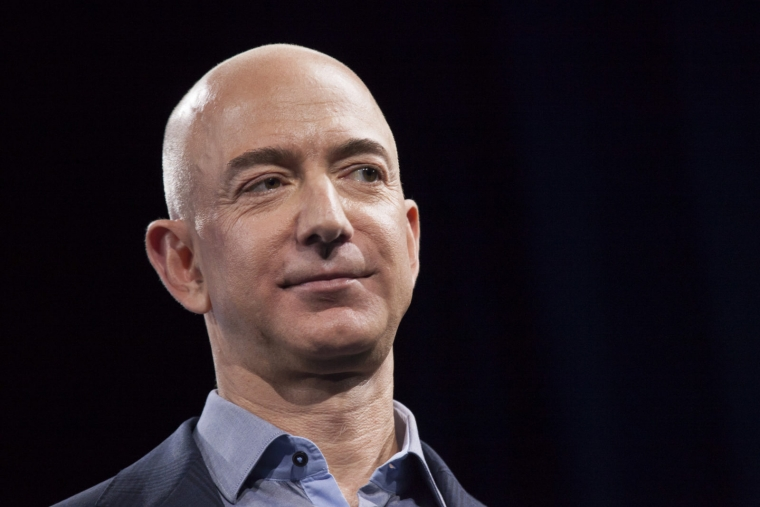 Amazon.com founder and chief exec Jeff Bezos is comfortably the world's known richest known man (Photo:P Ryder/Getty)